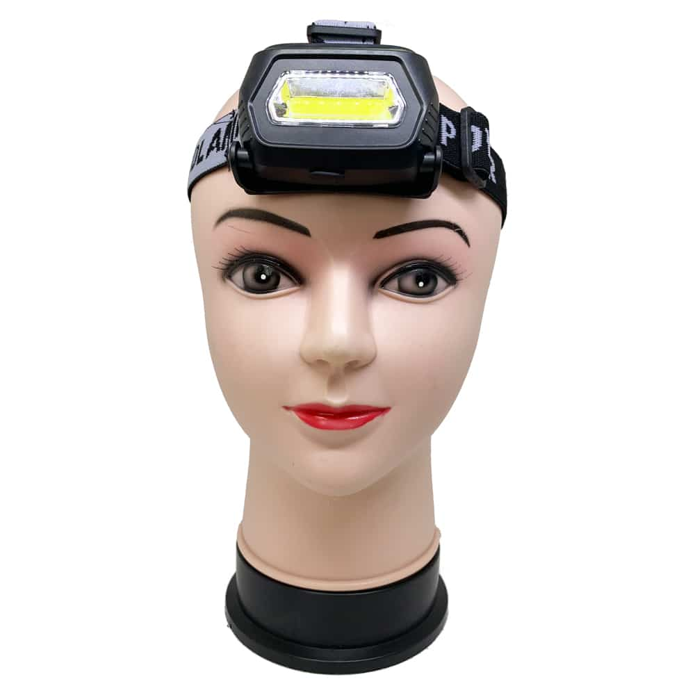 C090 1LED 1COB Rechargeable Headlamp 3
