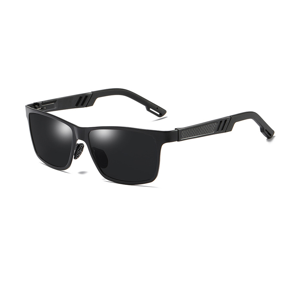 Ez fit Polarized Outdoor Sunglasses Black side