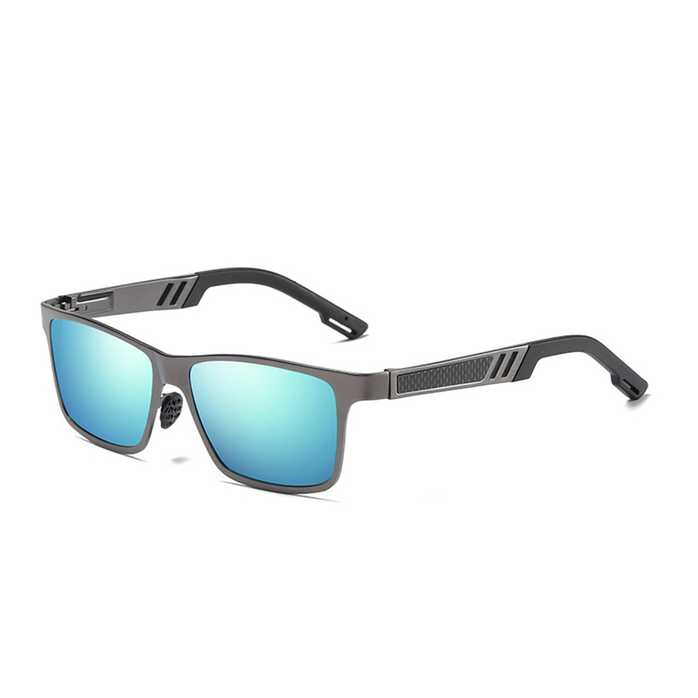 Ez fit Polarized Outdoor Sunglasses Blue side