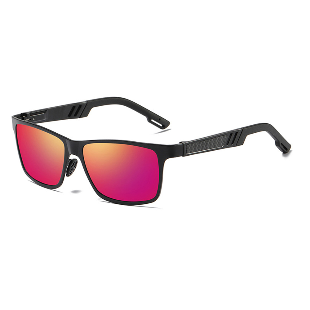 Ez fit Polarized Outdoor Sunglasses Purple side