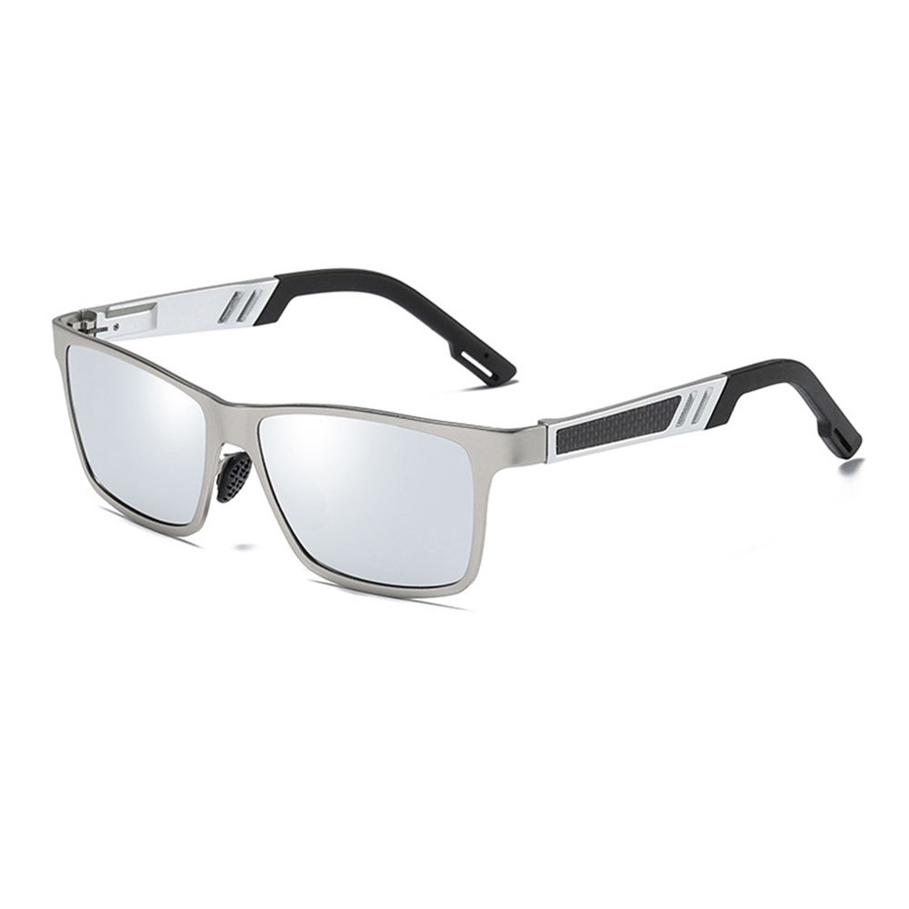 Ez fit Polarized Outdoor Sunglasses Silver side