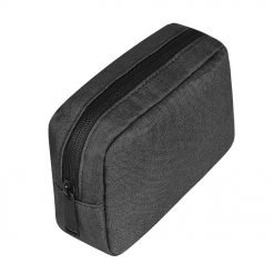 GlobeBear USB Charger Storage Bag Dark Grey