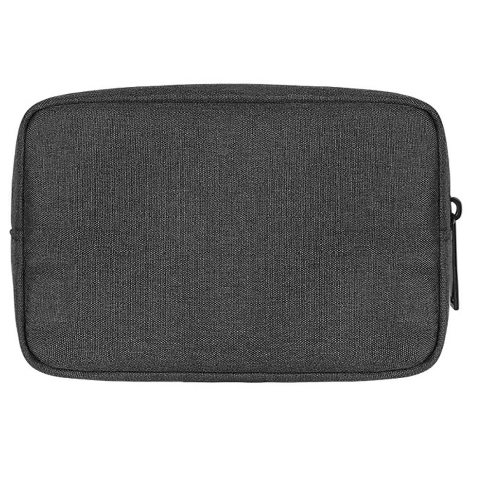 GlobeBear USB Charger Storage Bag Dark Grey side