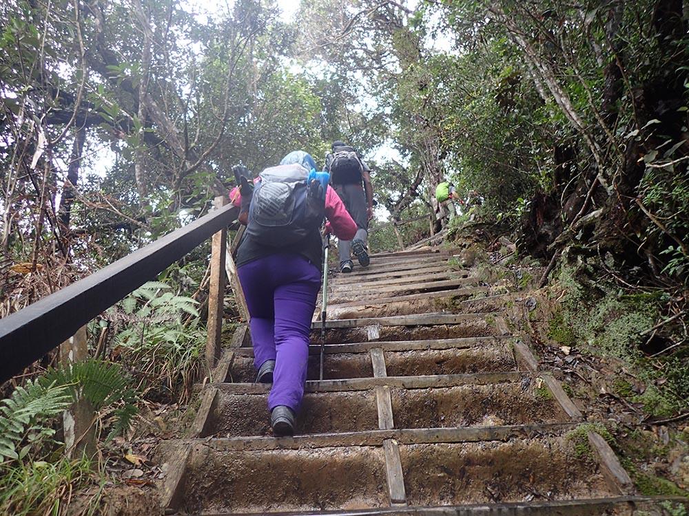 hiking gunung kinabalu