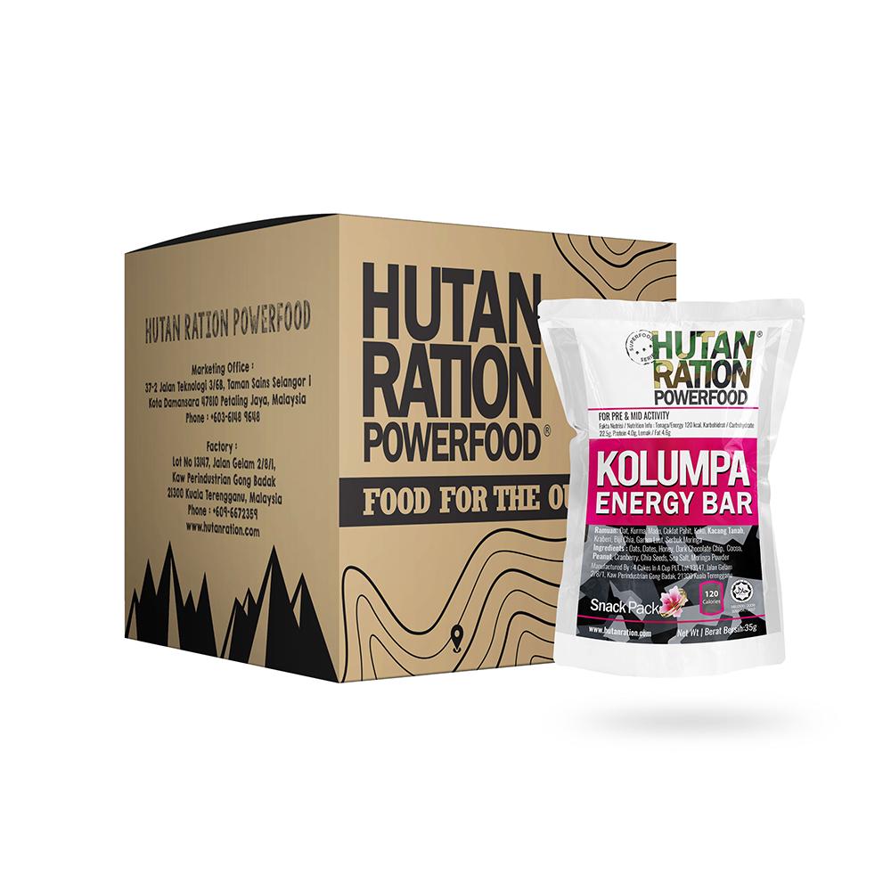 HUTAN RATION Ultra Pack, Hutan Ration, Hutan Ration Energy Bar, Hutan Ration Powerfood, Healthy Energy Bars, Keto Energy Bars, Best Energy Bars, Homemade Energy Bars, Bar Tenaga