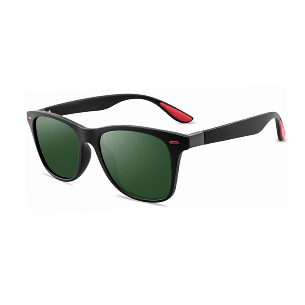 Rexie Polarized Outdoor Sunglasses BlackGreen side