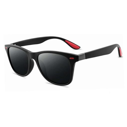 Rexie Polarized Outdoor Sunglasses BlackGrey side
