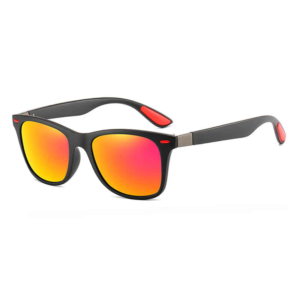Rexie Polarized Outdoor Sunglasses BlackRed side