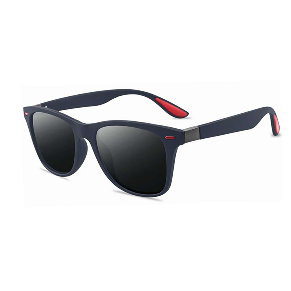 Rexie Polarized Outdoor Sunglasses BlueGrey side