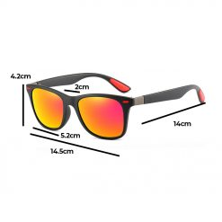 Rexie Polarized Outdoor Sunglasses Size