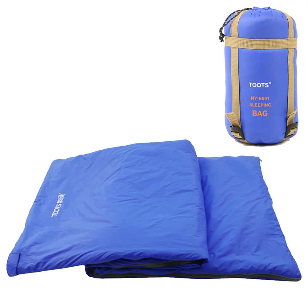 TOOTs Ultralight Sleeping Bag LightBlue 2