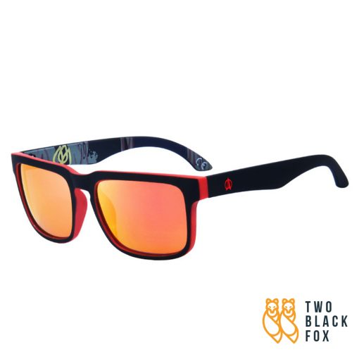 Xero Polarized Outdoor Sunglasses BlackRed 2
