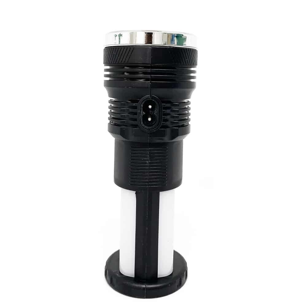 YD 2881Y 124SMD Multifuncion Solar Rechargeable Torch Light 3