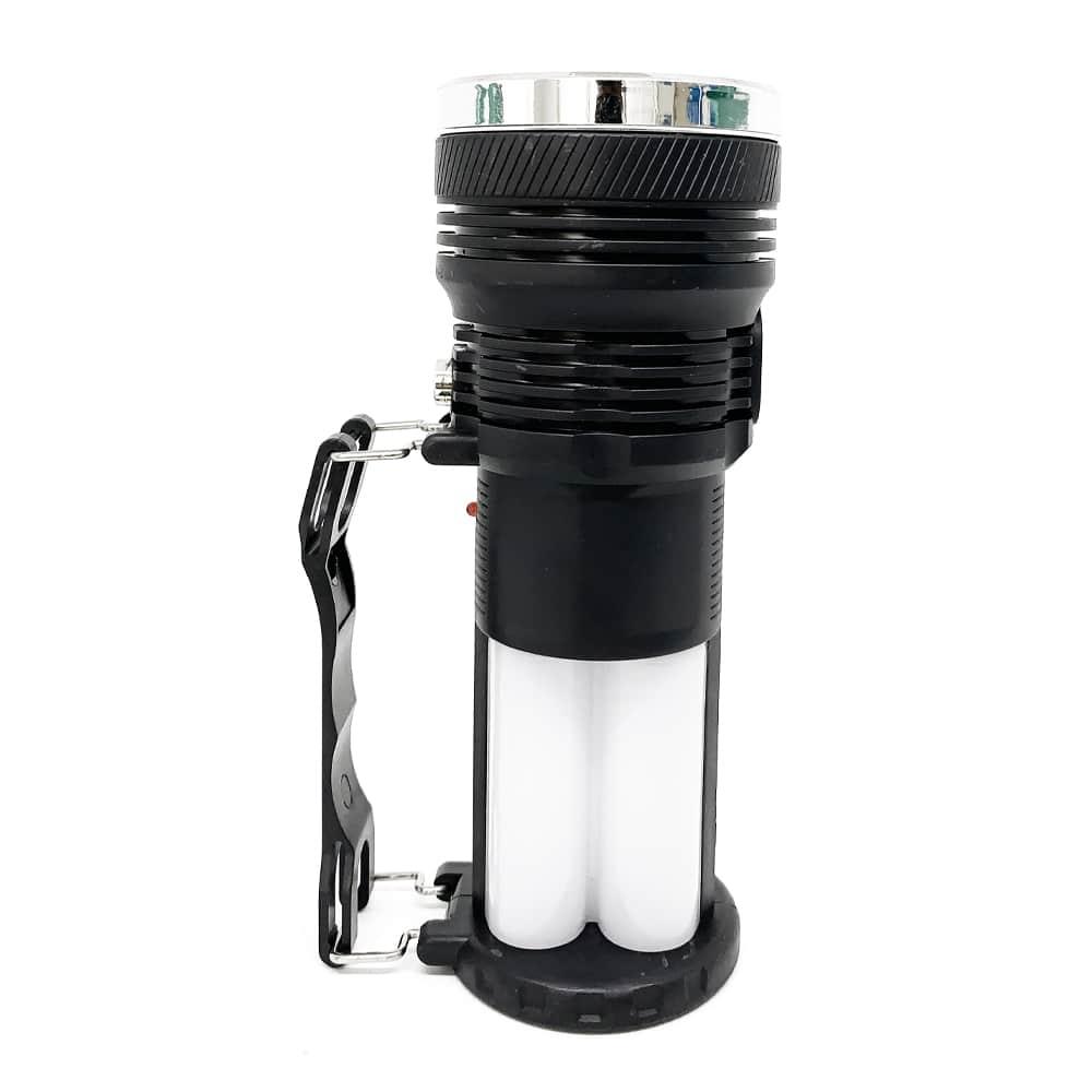 YD 2881Y 124SMD Multifuncion Solar Rechargeable Torch Light 4
