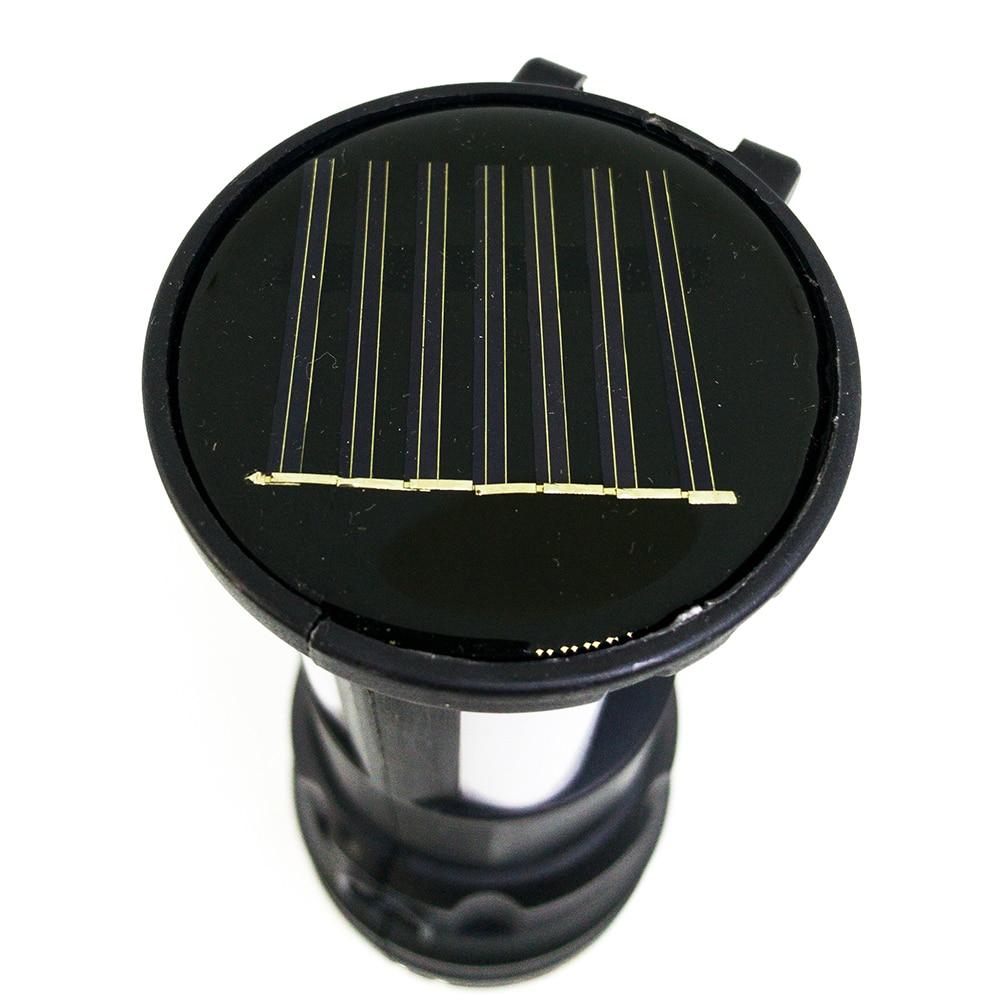 YD 2881Y 124SMD Multifuncion Solar Rechargeable Torch Light 5