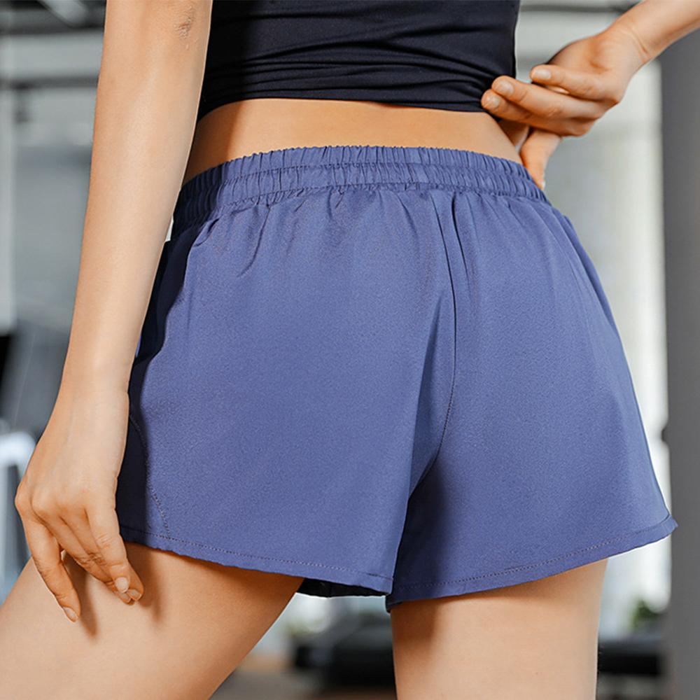 Drifit Sport Short Pants, short pants, running, cycling, indoor and outdoor short pants, blue, yellow