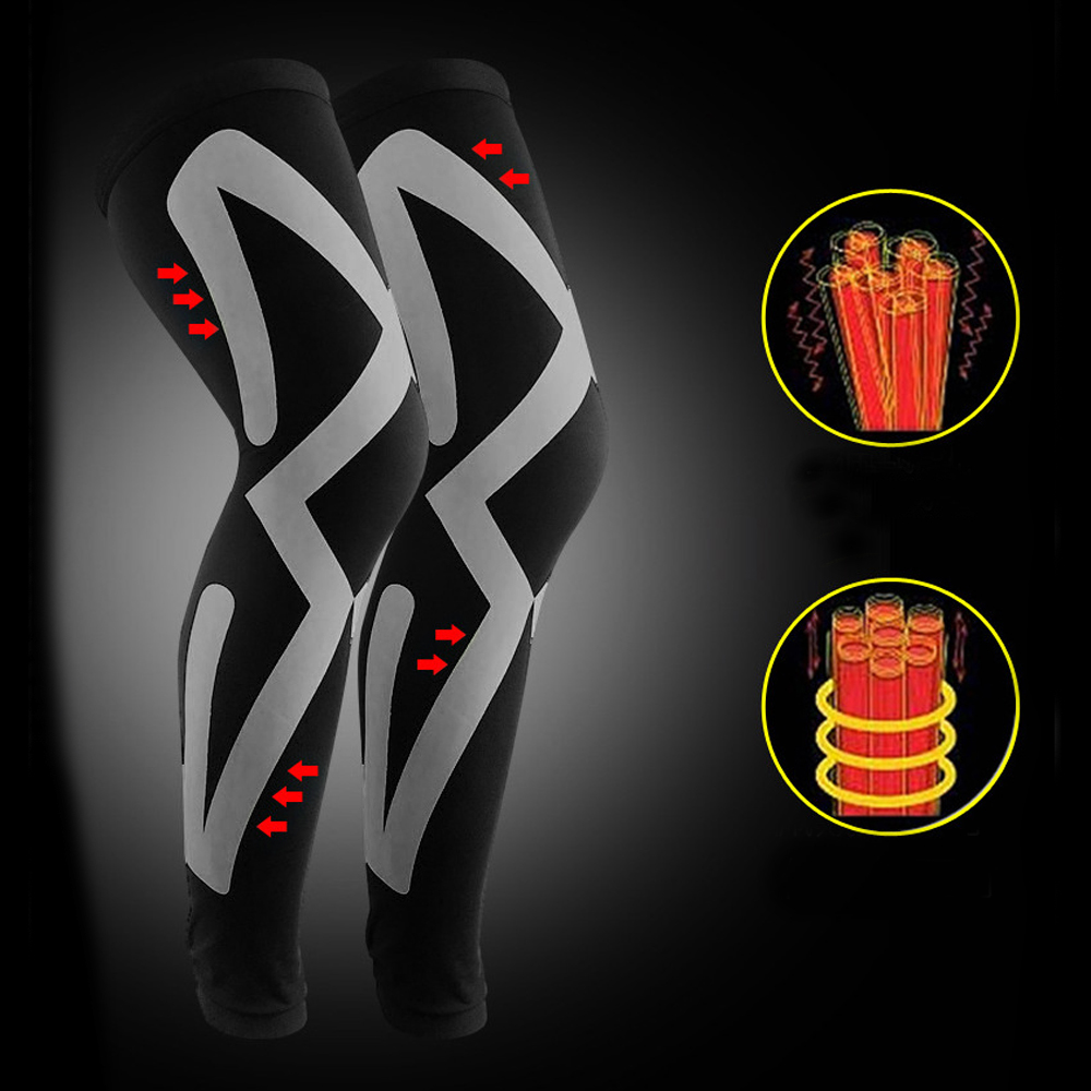 TBF Compression Leg Sleeve, lutut, knee guard, fitness, running wear, hiking, cycling, gym activity