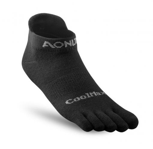Aonijie Short Compression Toe Socks Black