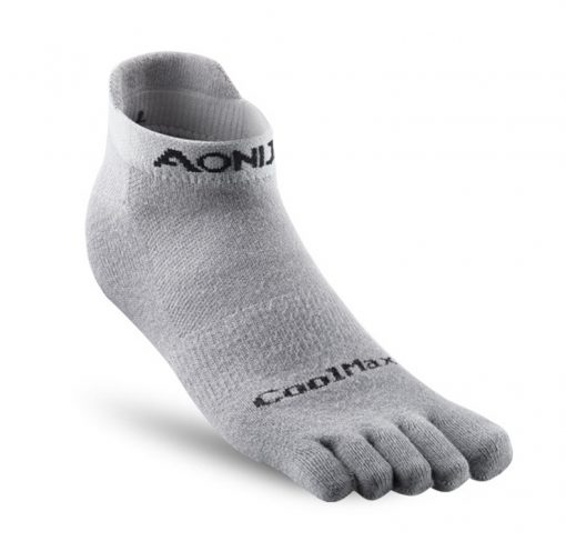 Aonijie Short Compression Toe Socks Grey 1