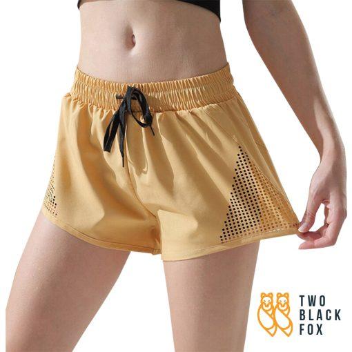 Drifit Sport Short Pants yellow 1