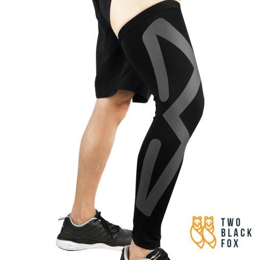 TBF Compression Leg Sleeve black 1 1