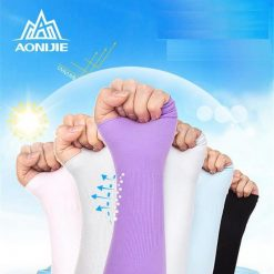 1 Pair Sunscreen Breathable Arm Cuff Sleeves Sport Bicycling Driving Running Gloves UV Protected Arm Warmer 1