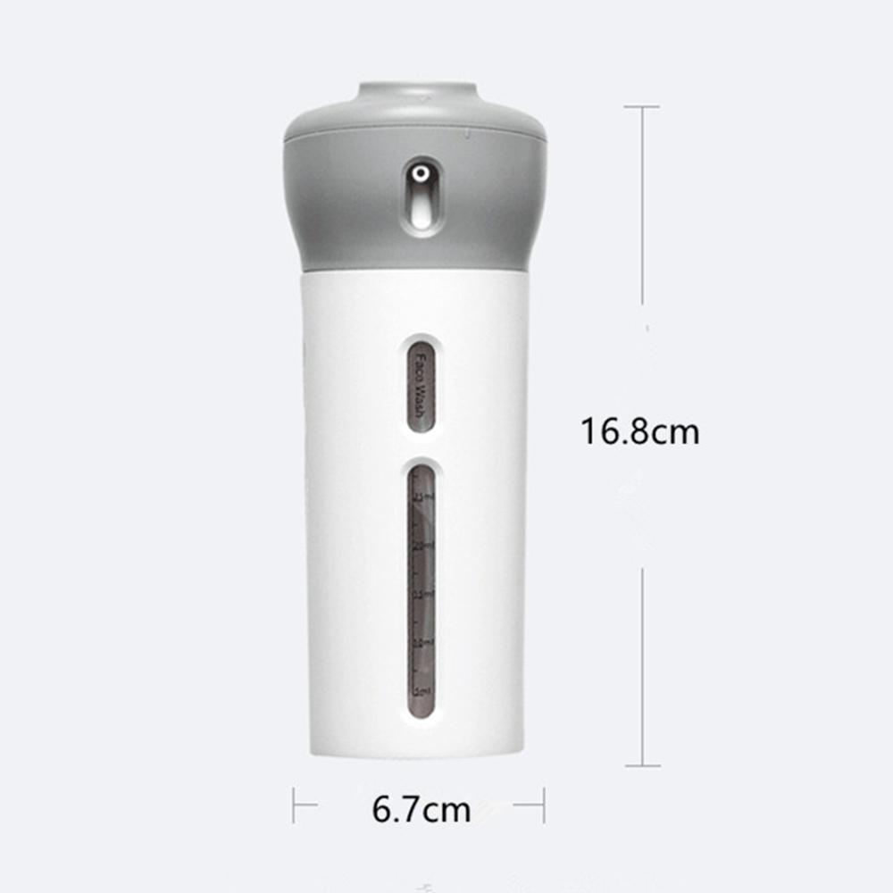 Travel 4-in-1 Bottle Organizer, camping, gym, travel, variety use bottle, small bottle, shampoo bottle, shower bottle