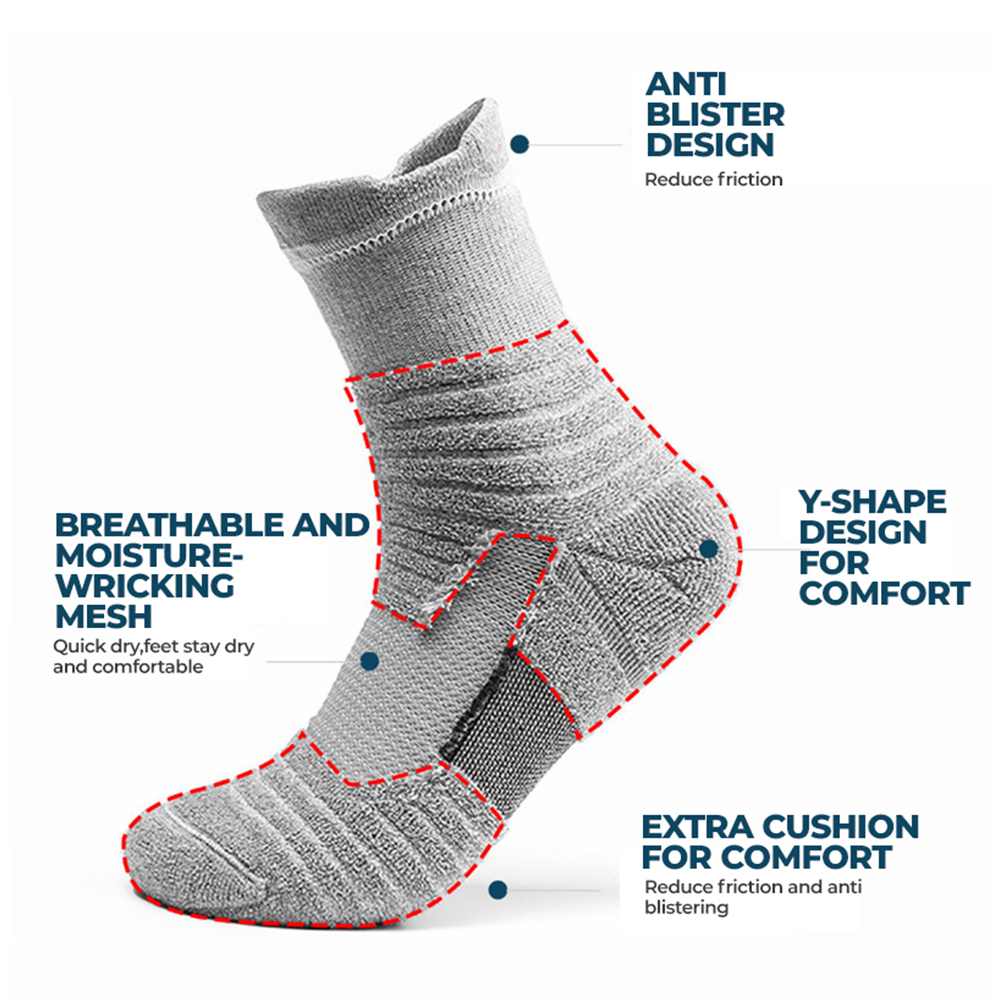 TBF Compression Long Socks, outdoor socks, long socks, antiblister socks, running socks, hiking socks, camping long socks, long socks malaysia, affordable