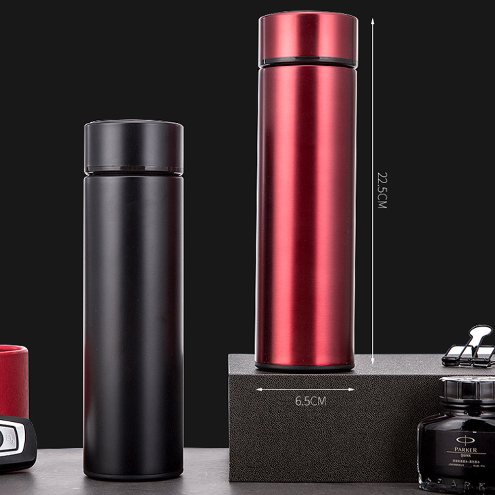 Digital 500ML Thermal Flask, Running and Cycling Bottle, Temperature display thermal flask, affordable flask, outdoor flask