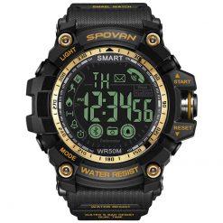 Spovan PR2 2 Bluetooth Smart Watch Gold