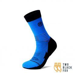 TBF 3O4 Length Compression Socks Blue Black 1