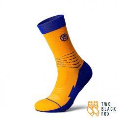 TBF 3O4 Length Compression Socks Yellow Blue 1