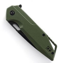 SHARK BLACKWASHED ARMY GREEN HANDLE4