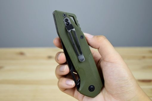 SHARK BLACKWASHED ARMY GREEN HANDLE9
