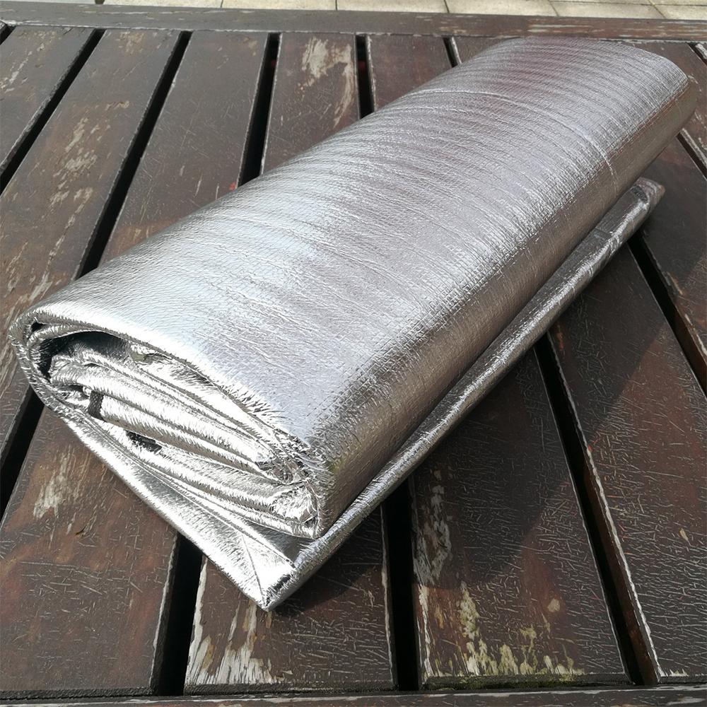 Portable Outdoor Camping Mat, tikar, lapik, alas, camping, getah, aluminium, water resistance, cover, ground, canvas
