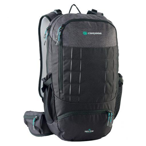 Caribee Triple Peak 34 Backpack, bagpack. beg galas, beg travel, hiking, camping, beg