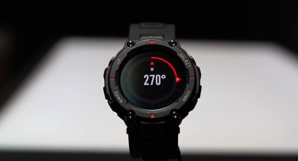 AMAZFIT T-Rex Smartwatch, jam tangan, bracelet, wristband, digital, analog, sports mode, unisex. 5ATM, water resistance