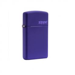 zippo slim purple