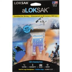 ALOKSAK DOUBLE ZIP WATERPROOF POUCH 3.7X7
