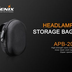 Fenix APB-20 Headlamp Storage Bag Black
