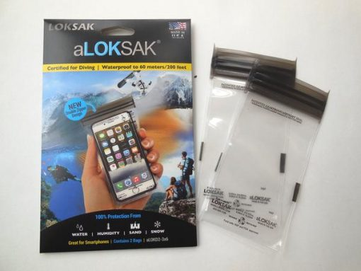 Aloksak Double Zip Waterproof Pouch 3x6 1