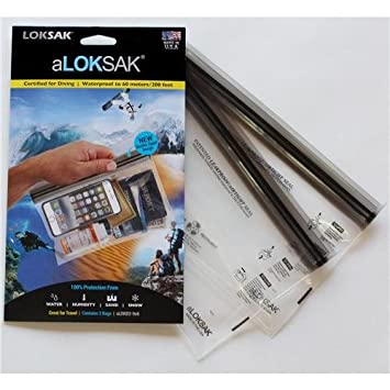 Aloksak Double Zip Waterproof Pouch 9x6