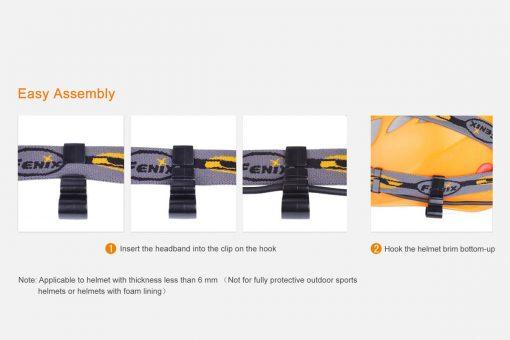 Fenix ALD 02 Helmet Attachment Hook Set 2
