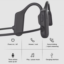 TBF Bone Conduction Wireless Earphone