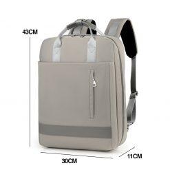 TBF Classic 1005 Laptop Bag Size