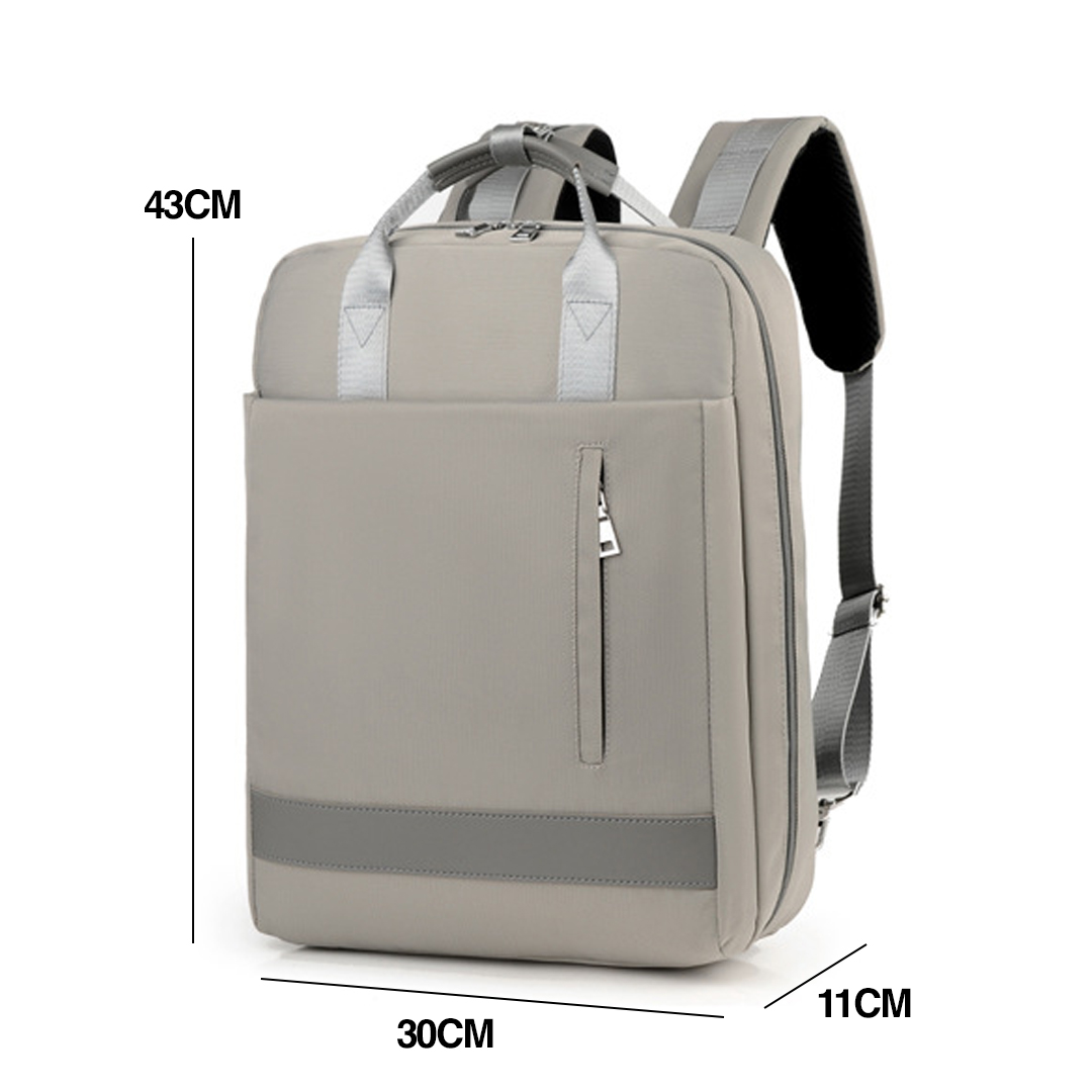 TBF Classic 1005 Laptop Bag, notebook, USB, charging, adjustable strap, buckle, soft, comfortable, beg, shoulder, travel, carry, bagpack, mac, ios, smartphone, android, USB charging port, anti theft, anti pencuri