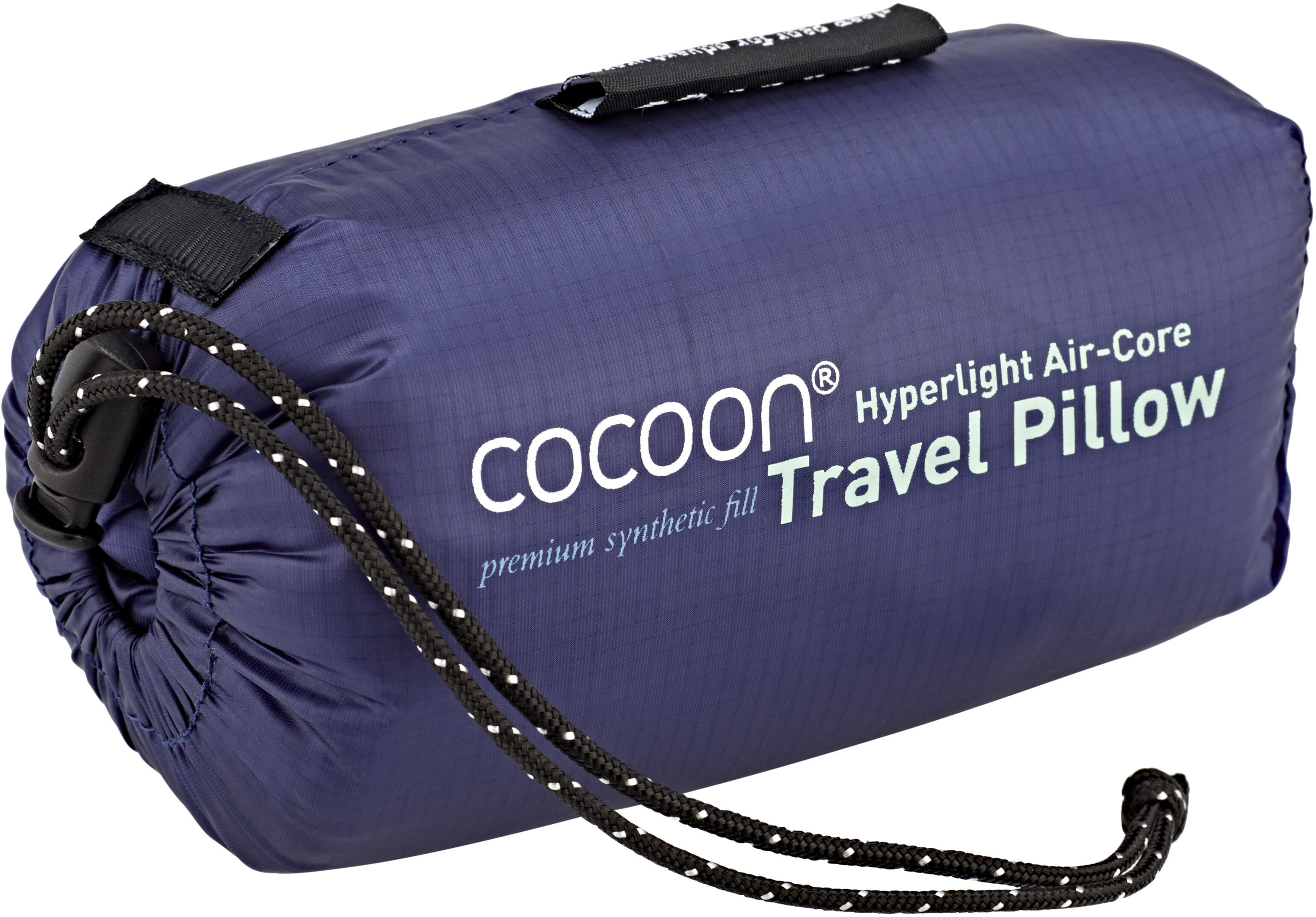 Cocoon Air Core Pillow Hyperlight Black