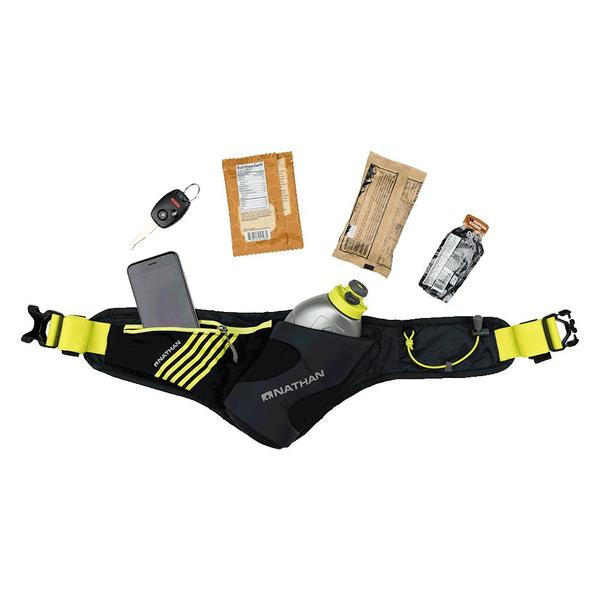 Nathan Peak 535ml, jogging belt, gel belt, adjustable runnning belt