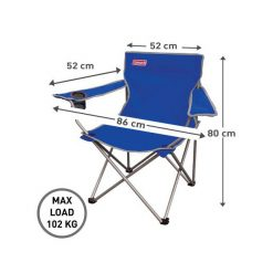COLEMAN Blue Go! Quad Arm Chair
