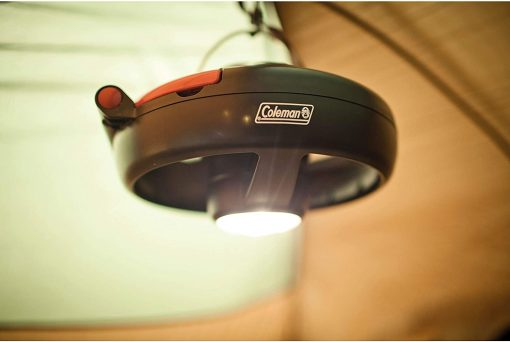 COLEMAN CPX6 Tent Fan With LED Light